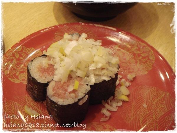 まぐろ人(壽司)~蔥花鮪魚細捲(ネギトロ)