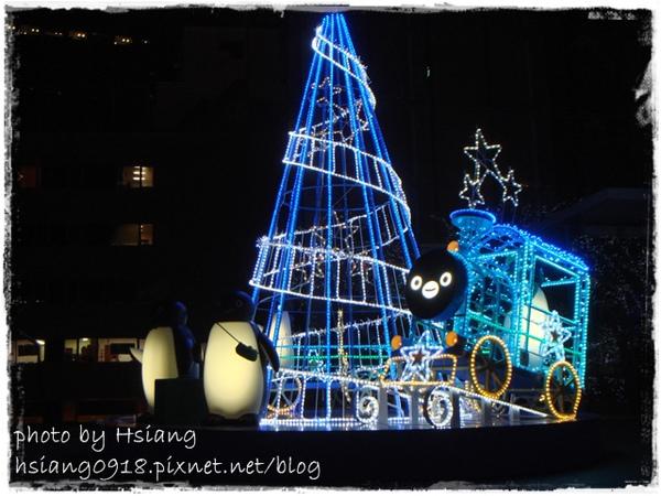 日本新宿南口東日本鐵道公司前聖誕裝飾