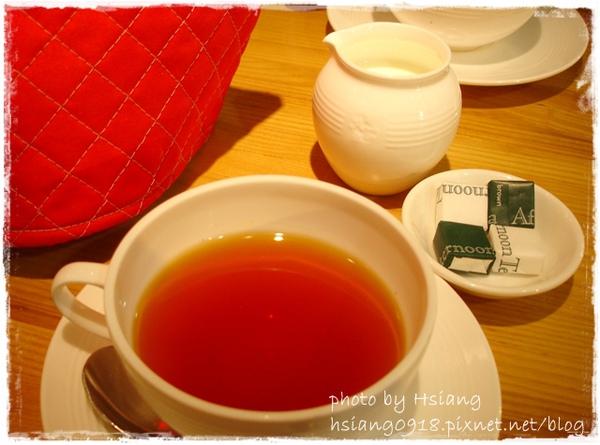 特別套餐中的飲品~阿薩姆紅茶