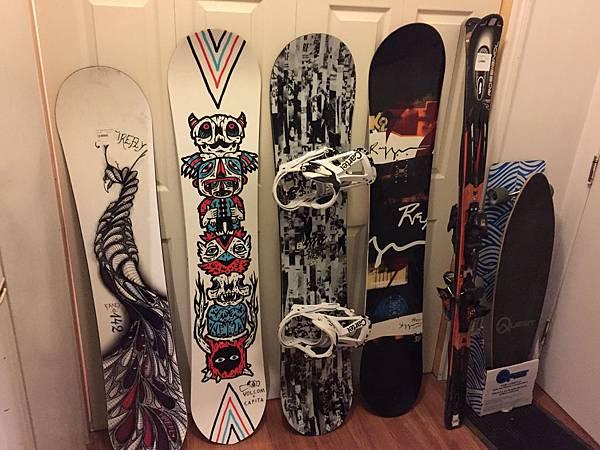 如何選擇Snowboard(四)-長度、寬度