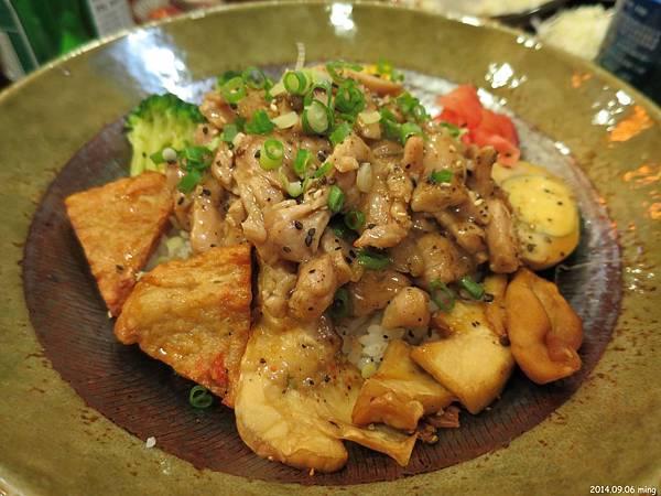 黑胡椒豬丼 130元