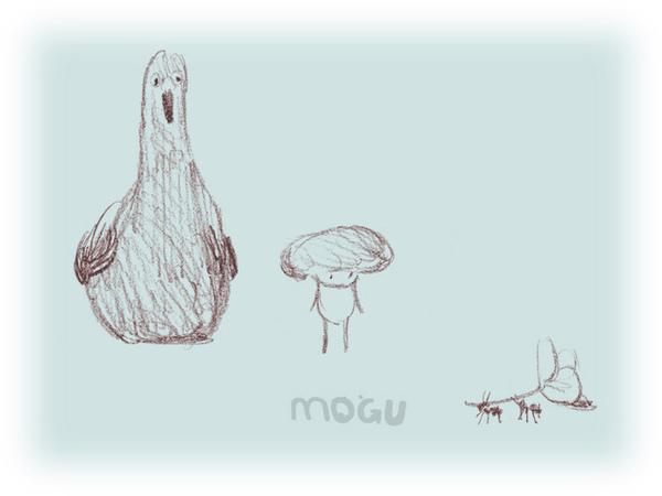公雞與洋菇這次咕嘰之旅的行前紀念照