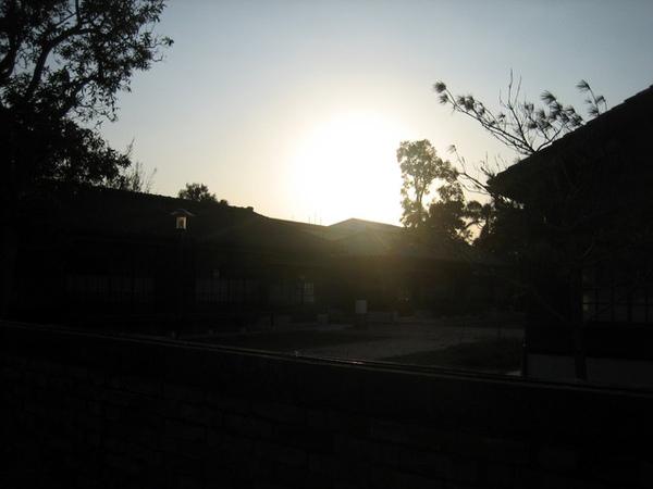 歐巴桑說趁著夕陽快去拍照,果然是在地人啊