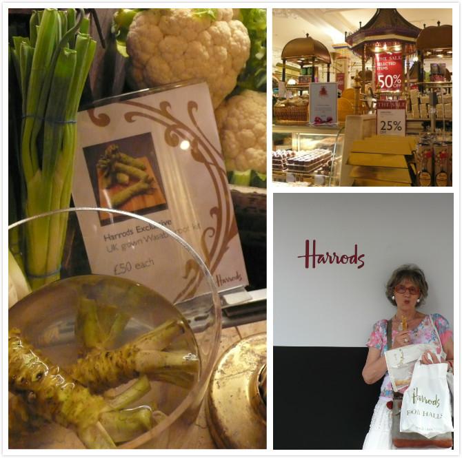 Harrods購物