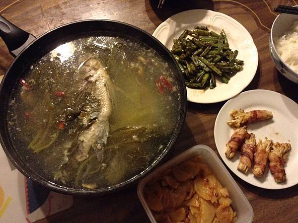 酸菜魚大餐