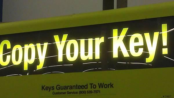 作鑰匙自已來