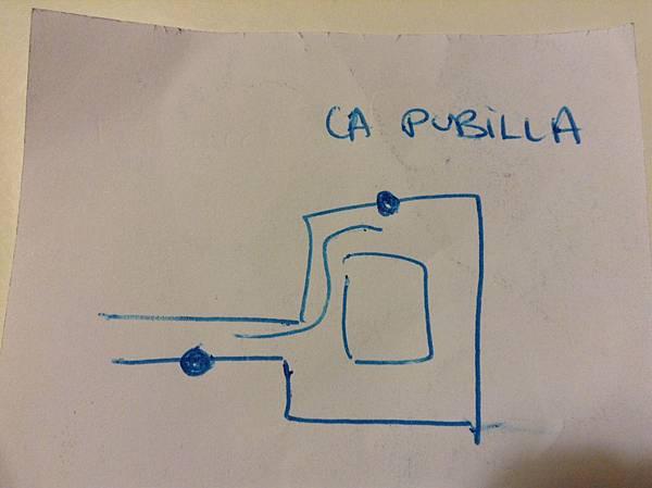 CARLUS手繪美食餐廳地田圖