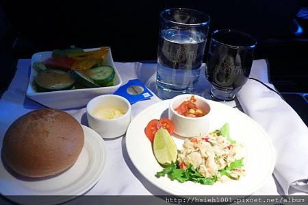 巴拿馬航空午餐的前菜