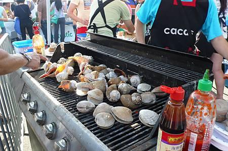 燒烤螺與蛤