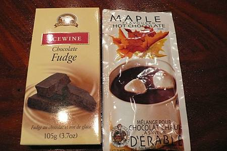 冰酒與楓糖製品