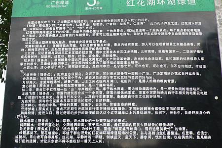 紅花湖環湖綠道介紹