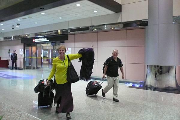 Ken&Jill抵達台灣了