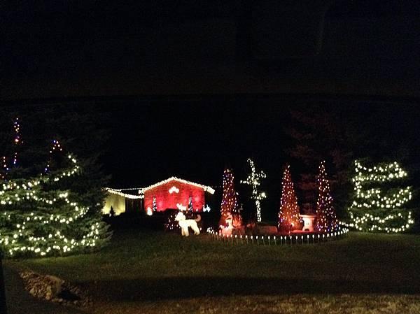 聖誕燈飾1