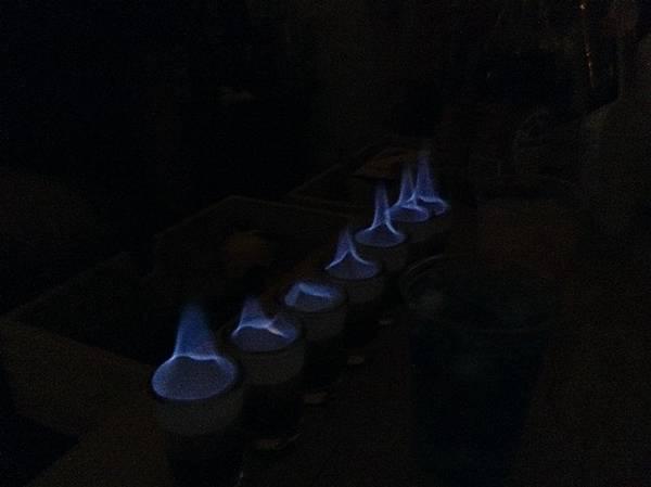 雞尾酒火焰