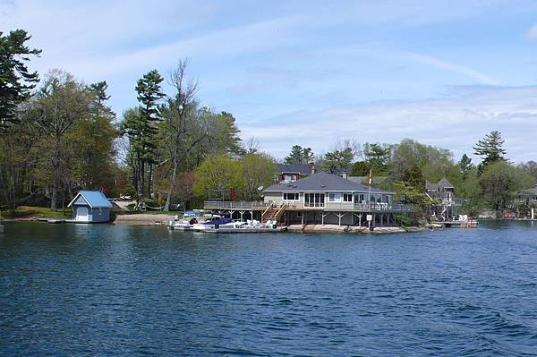 千島湖上的豪宅