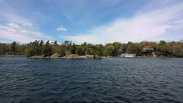 千島湖與島上別
