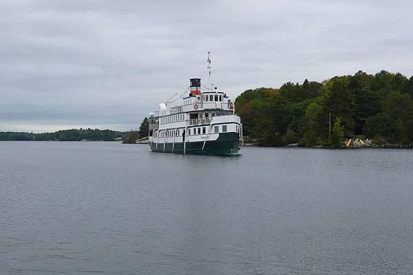 Muskoka湖蒸汽船