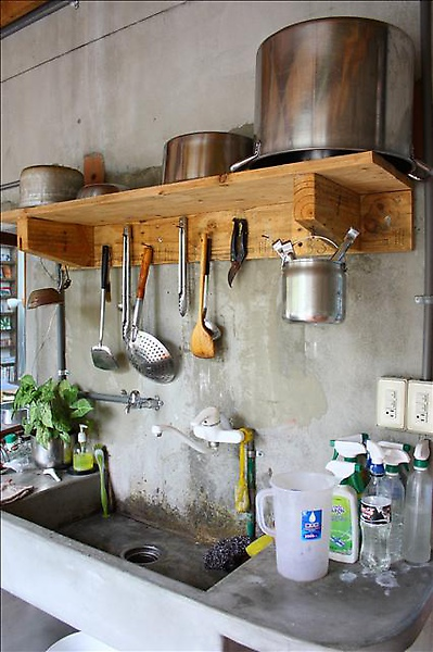 住海邊 廚房一景