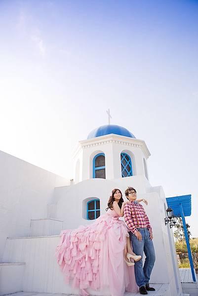 地中海風婚紗照/新竹婚紗攝影工作室