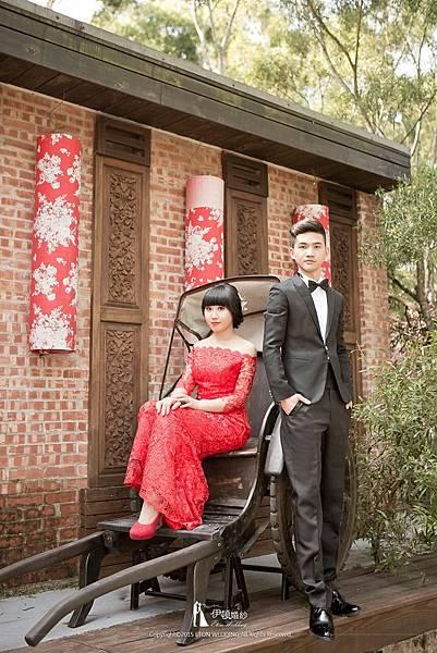 新竹復古風婚紗照