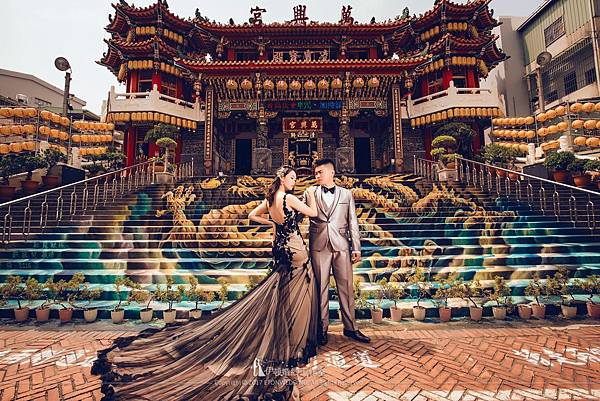 廟宇婚紗照拍攝