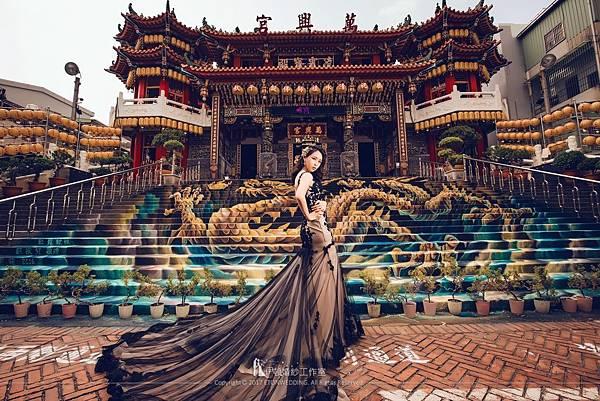 廟宇婚紗照