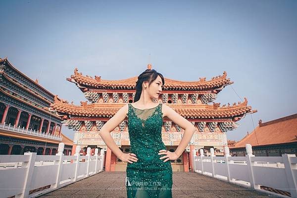 廟宇婚紗拍攝