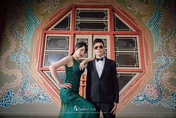 寺廟婚紗照拍攝