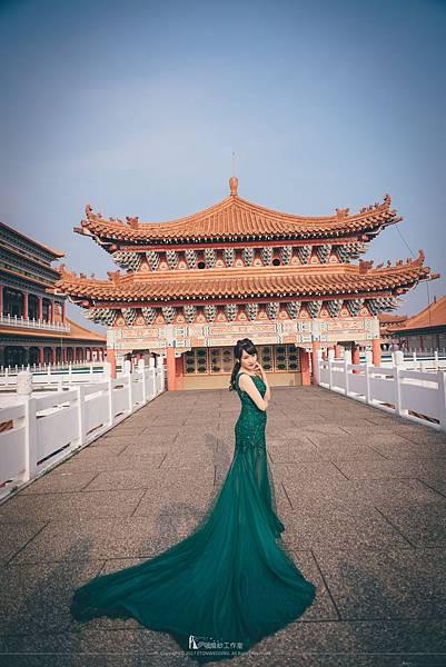 寺廟婚紗照