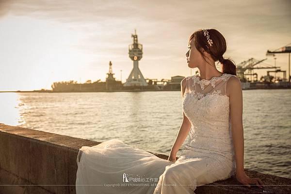 婚紗照中景