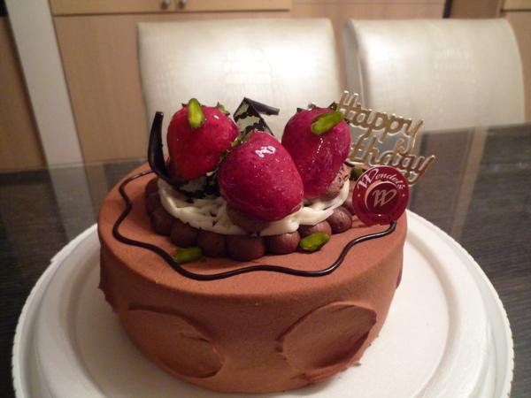 是好吃的巧克力蛋糕