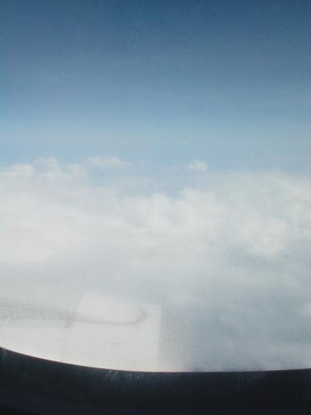 高空的天氣真好!