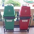 定光寶殿的垃圾桶(有實施垃圾分類哩)