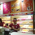SM Mall裡的Dunkin' Donuts