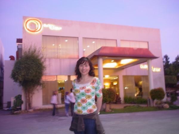 晚餐的East Ocean中菜餐廳~外觀蠻有feel的~旁邊還有日本料理店~