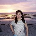 這天為了看出海看海豚+浮潛~5點多就起床了~出海前剛好可看到日出!