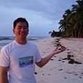 白色的沙灘~藍天還有大海~真是太棒啦!