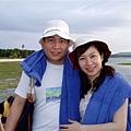藍色浴巾是飯店提供給房客出海或沙灘活動用的~很貼心~