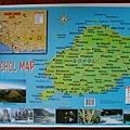 渡假村精品店裡的BOHOL島地圖~
