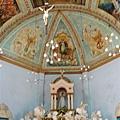 神蹟教堂~當地的大教堂~天花板藝術很美~