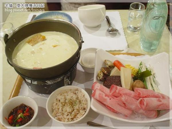 南瓜牛奶火鍋