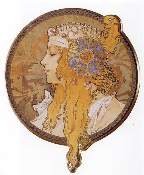 Byzantine Head The Blonde. 1897拜占庭頭飾(金髮).jpg