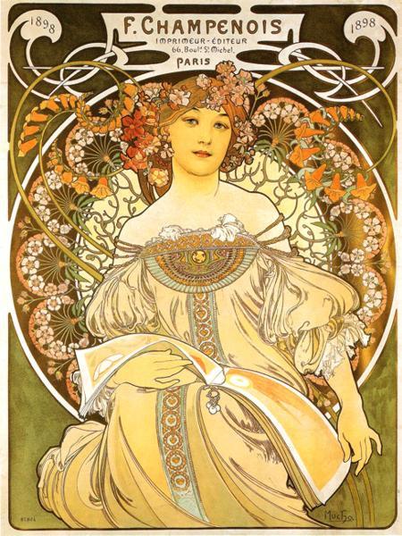 Reverie. Champenois, Imprimeur - Editeur. 1897綺思.jpg