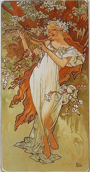 Spring. From The Seasons Series. 1896.jpg