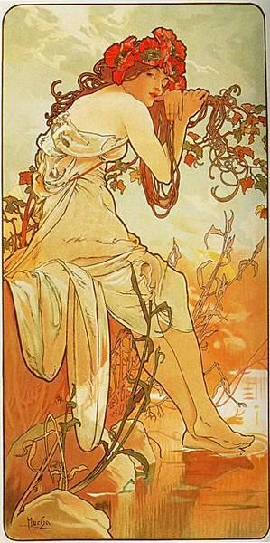 Summer. From The Seasons Series. 1896.jpg