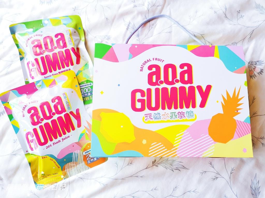 a.o.a.天然水果軟糖