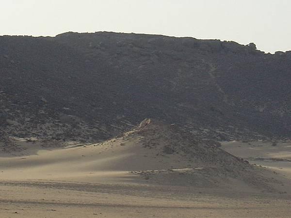 荒涼的撒哈拉沙漠