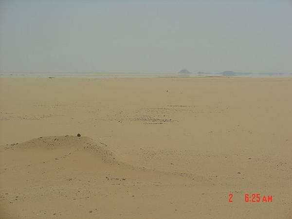 海螫蜃樓---其實看到的湖泊是幻像
