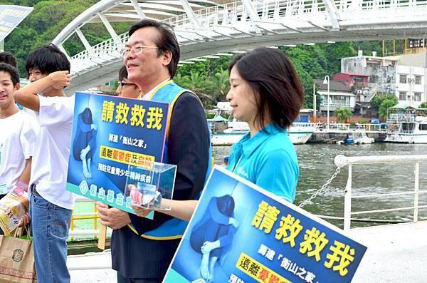 2012-8-18志工街頭募款