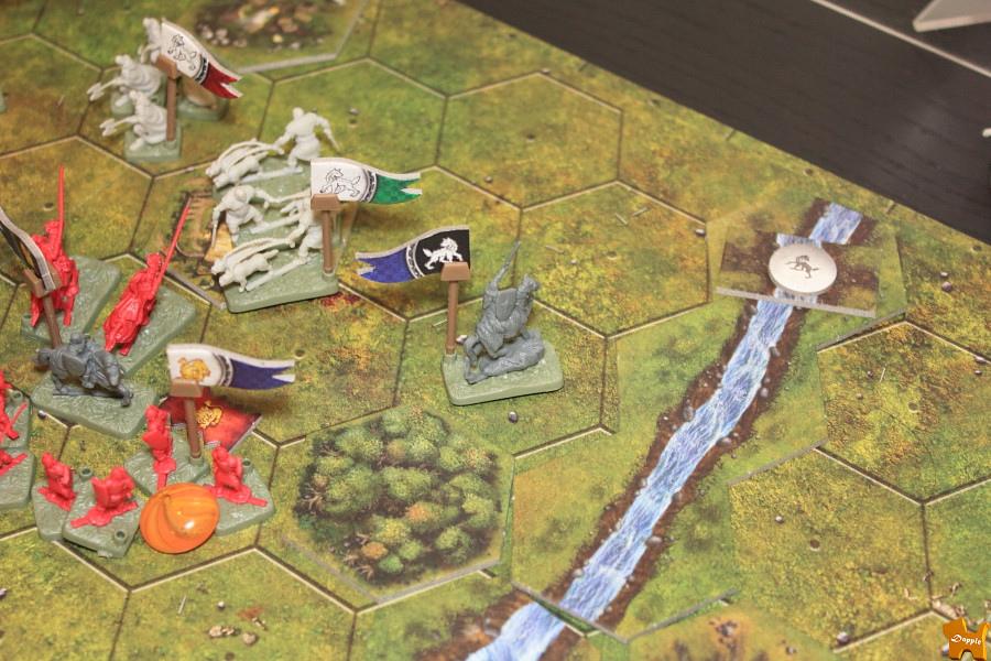 蘭尼斯特中階重裝步兵也攻打卡史塔克